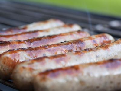 Sausage mash menu